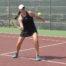 Elle s'appelait encore Respaut, était licenciée de l'autre côté du Pédégal, avait été battue par Sybille Gauvain dans la finale féminine. Devenue Bottero, désormais licenciée au Tennis Club Gallieni, Célia espère bien gravir la dernière marche...
